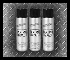 BUYER WARNING - 3 Maximum Impact Cleaning Solvent Ethyl Chloride Cleaner Spray