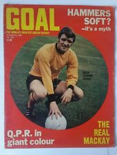 Goal football magazines no 105 1970 - goal magazine - football magazine, soccer