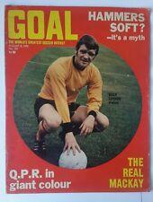 Goal football magazines no 105 1970 - goal magazine - football magazine, soccer