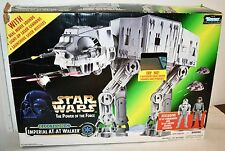 Star Wars PoTF Electronic Imperial AT-AT Walker Vehicle With Box Kenner 1997