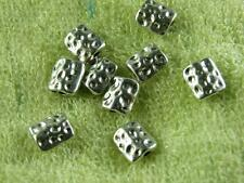 40pcs Tibetan Silver Nice Square Spacers 9x7.5mm 9509