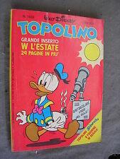 TOPOLINO # 1433 - 15 maggio 1983 - WALT DISNEY - QUASI OTTIMO - con INSERTO