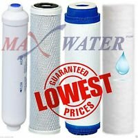 Max Water Reverse Osmosis Coconut Shell Carbon GAC Sediment RO Water Filters Set
