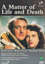 A MATTER OF LIFE AND DEATH - DVD - REGION 2 UK