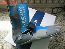 NEW SPERRY TOP-SIDER SEA SOCK HI BLUE WATER SHOES MENS 10 #0830802