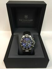 Victorinox Swiss Army 241406 Summit XLT Blue Chronograph Men's Watch