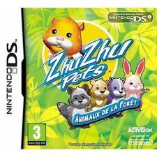 Jeu pour Console Nintendo DS Zhu Zhu Pets Animaux de la Forêt