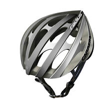 CARRERA RADIUS HIGH QUALITY ROAD BIKE BICYCLE HELMET 58-61cm SILVER