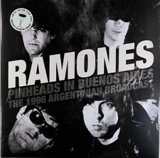 The Ramones Pinheads In Buenos Aires *SALE* Limited Edition 2 x Clear Vinyl DLP