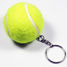 Creative Artificial 3D Tennis Ball Pendant Keyring Sports Key Chain Exquisite