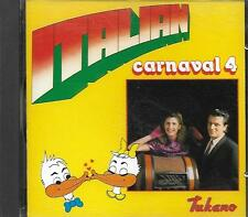 CD album: Compilation: Italian. carnaval 4 . Duck Record. Q