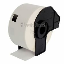 5x Brother Compatible DK11208 Printer Labels 38x90 Roll+Spool for QL-560 QL-570