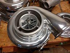 Borg Warner S474 .90 1.00 1.10 A/R Twin Scroll T4 Turbo S400 BILLET