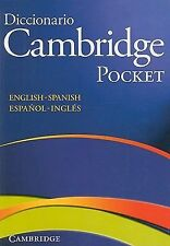 Diccionario Cambridge Pocket para Estudiantes de Ingles (2008, Paperback)