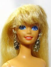 VINTAGE 1992 Hollywood Capelli BARBIE NUDE molto lunghi capelli