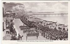 March Past Of Royal Artillery, King's Birthday Parade, DOVER, Kent