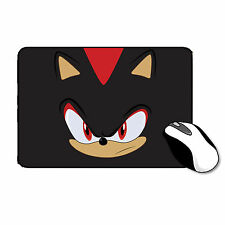 Shadow The Porcospino Sonic Game Tappetino Mouse In Gomma