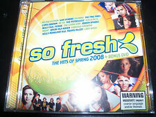 So Fresh The Hits Of Spring 2008 CD DVD Edition Ft Rihanna Lady Gaga Fergie & Mo