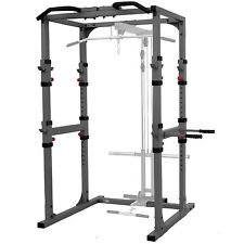 XMark Power Cage with Dip Station and Pull-up Bar XM-7620 New