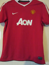 Manchester United 2010-2011 Home Football Shirt Size XL Boys /39913