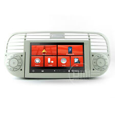 "Autoradio Fiat 500 6.2"" HD 1080P Touch Navigatore GPS DVD BT USB SD MirrorLink B"