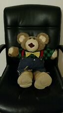 Furskins teddy bear with shoes outfit stuffed animal doll