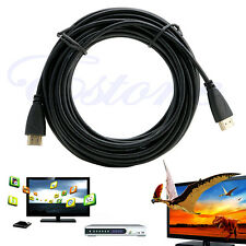HD 1080P 30 FT HDMI Certified Gold Plated Cable Cord for BLURAY PS3 XBOX PC HDTV