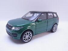 LOT 40762   Welly Range Rover Sport grün-schwarz Modellauto 1:40 NEU