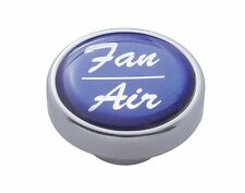 Knob fan/air blue glossy sticker for Freightliner Kenworth Peterbilt