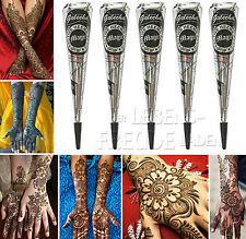 5 x Golecha Magic henné Cône noir á 25g - Mehendi Tatouage - Testé cliniquement
