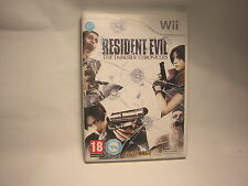 NINTENDO WII  Resident Evil : The Darkside Chronicles