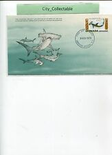1979 GRENADA FISH FDC great hammerhead shark # T135