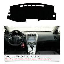 Fits For TOYOTA COROLLA 2007-2013 DashMat Dashboard Cover Anti-fatigue Fly5D