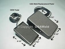 RFCS-RJ45 Foot Control Pedal Miller Tig 300432 Diversion 165 180 Welder