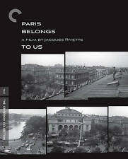 Paris Belongs To Us Blu-ray criterion jacques rivette