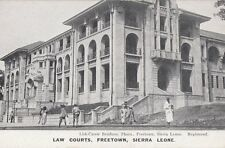 SIERRA LEONE: Law Courts,Freetown -LISK-CAREW