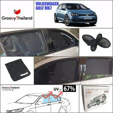 4 PCS SET CURTAIN BLIND SUN SHADE ASSEMBLY SET FIT FOR VW GOLF MK7 HB
