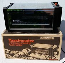 McGRAW EDISON CHROME TOASTER OVEN BROILER CONTINUOUS CLEANING MODEL 5244