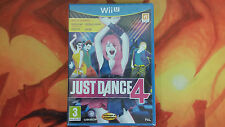 JUST DANCE 4 PRECINTADO SEALED WIIU WII U ENVÍO 24/48H