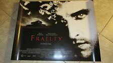 Frailty movie poster - Bill Paxton - uk quad movie poster - 30 x 40 inches