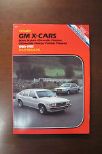 GM X-Cars 1980-1985 Shop Manual Climer by Ron Wright