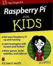 For Kids for Dummies Ser.: Raspberry Pi for Kids for Dummies by Sean McManus,...