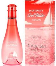 COOL WATER SEA ROSE SUMMER SEAS BY DAVIDOFF EDT PERFUME FOR WOMEN 100ML