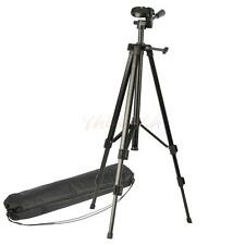 "53"" Aluminum Tripod Stand for Canon 450D 650D 5D Camera Camcorder Black"