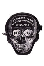 Banned Apparel Gothic Goth Occult Skull Power Trip Purse Coin Purse Ouija