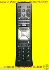 New Xfinity/Comcast VOICE Remote Control XR11 Backlight X1 with Batteries Manual
