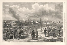 Captured Confederate Cannon in Front of General Thomas's Headquarters -Civil War