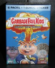 GARBAGE PAIL KIDS BNS 1 SEALED BONUS BOX 6 PKS + BONUS STICKER B6 LOOK FOR RARES
