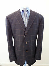 ALFRED DUNHILL SUIT 42R Made in ITALY $2150 Retail -coat blazer jacket tie shirt