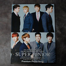K-POP SUPER JUNIOR  PREMIUM PHOTOBOOK 32 Page  Brand New !!!